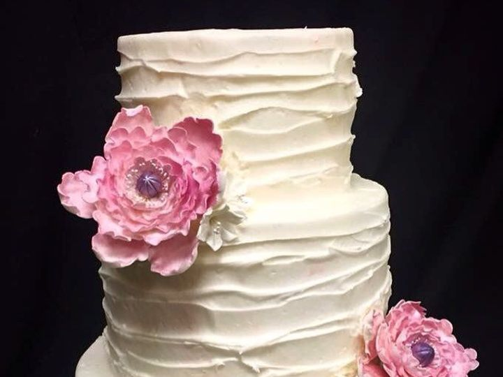 Tmx 1454001353782 Wed1 Virginia Beach wedding cake