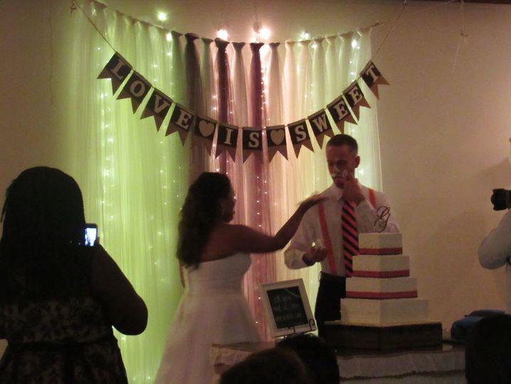 Slicing the cake