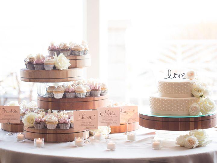 Tmx 1530904079 1863926f55cf6e57 1530904076 590d567c609c3e79 1530904059522 4 Cake With Cupakes Williamsburg wedding venue