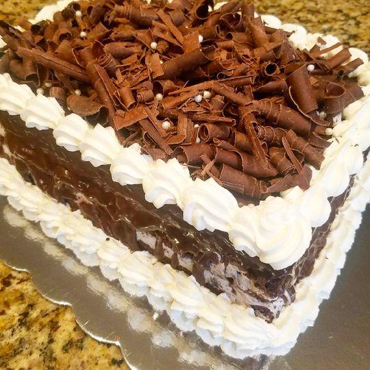 Oreo ice cream wedding cake