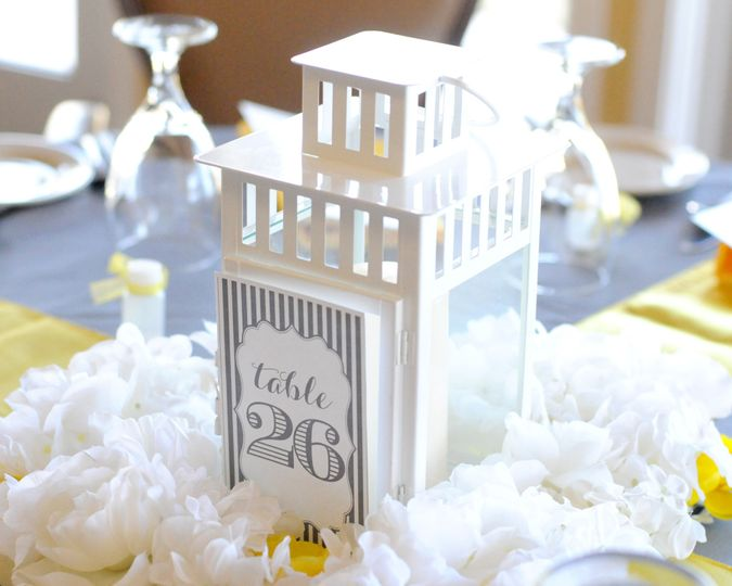 Distinctive table markers