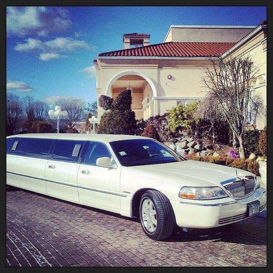 passenger limousine