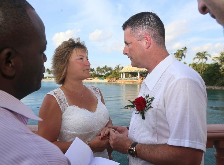 Bahamas Wedding Ceremony