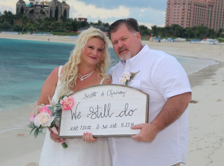 Atlantis Bahamas Vow Renewal