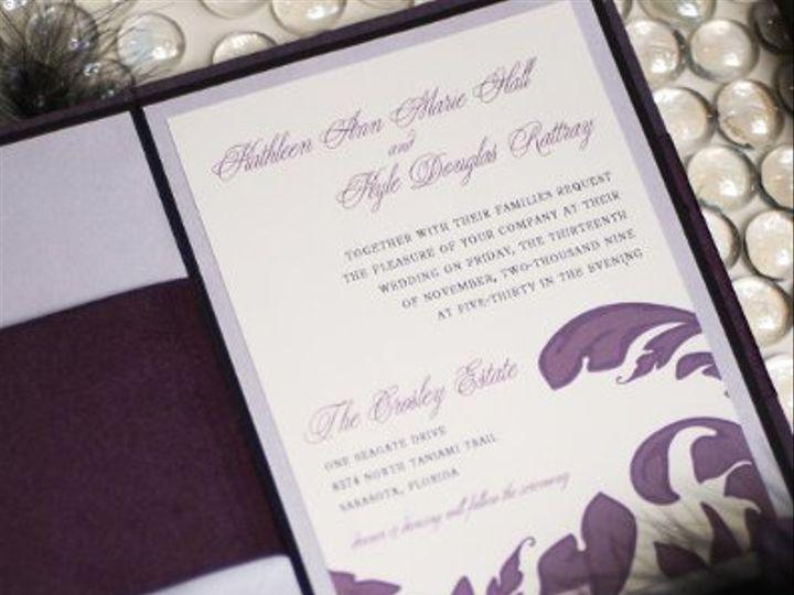 Tmx 1238942834430 HallInvitationInteriorDetail Longwood, FL wedding invitation