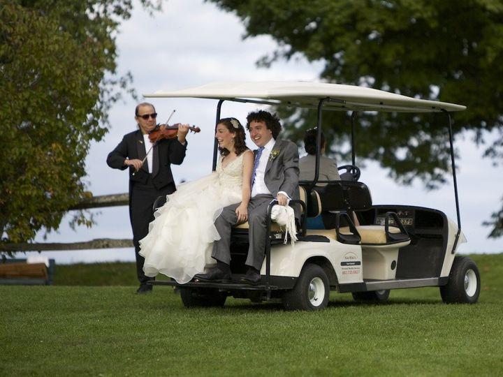 Tmx 1447944880541 Sara And Ben Golf Cart Ride Stowe, VT wedding venue