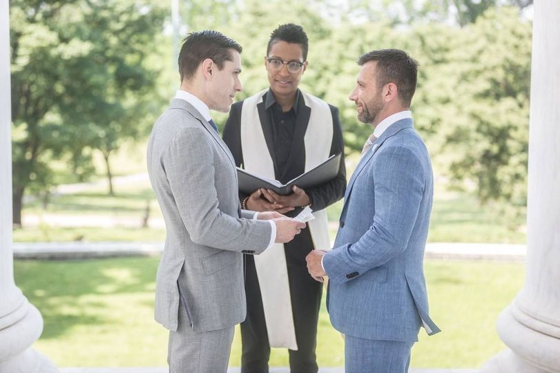 Same-Sex Wedding Officiant