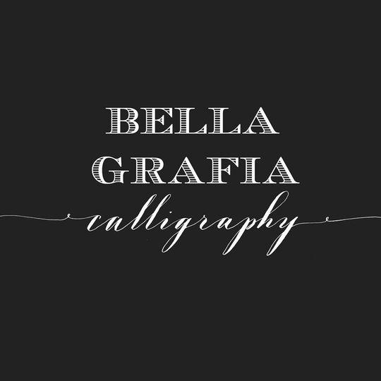 bella grafia logo