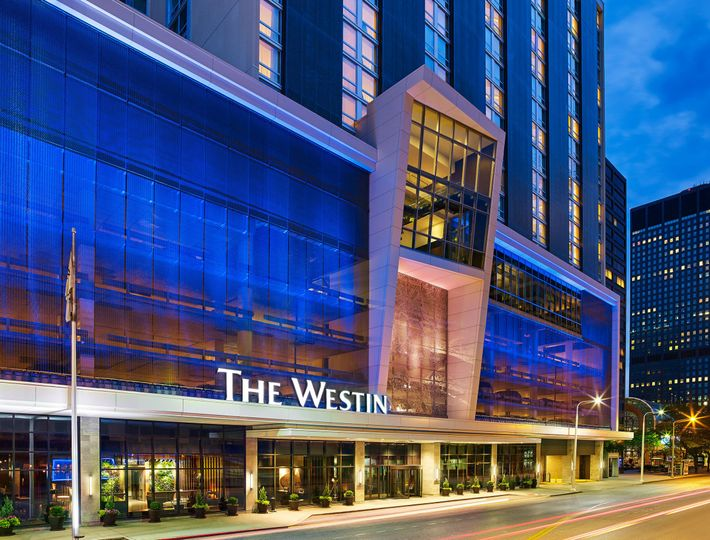Exterior view of The Westin Cleveland Downtown