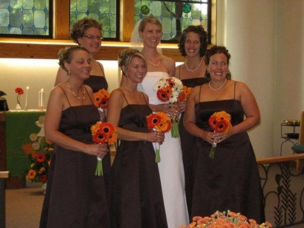 Bridal party Gerbs