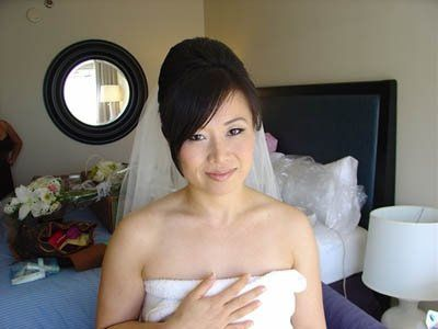 "Her wedding image was ""PURE WHITE"".