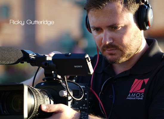 AMOSPRO Filmmaker Ricky Gutteridge