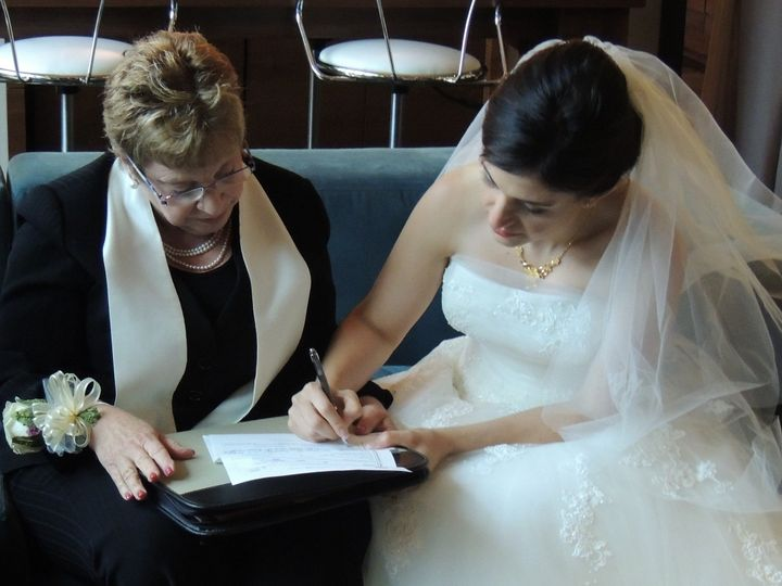Tmx 1416435232714 Rhee Ceremony Eventi Hotel Nyc N 005 New York wedding officiant