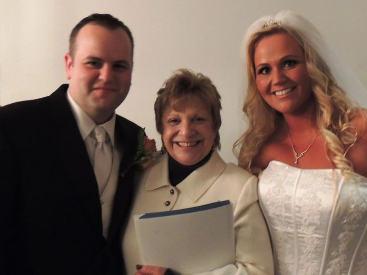 Tmx 1416435306224 Veronica And Kevin 3 10.24.14 New York wedding officiant
