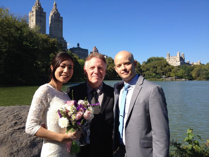 Tmx 1419363878777 Yumi Koshigai And Jonathan Powell 9 26 14 New York wedding officiant