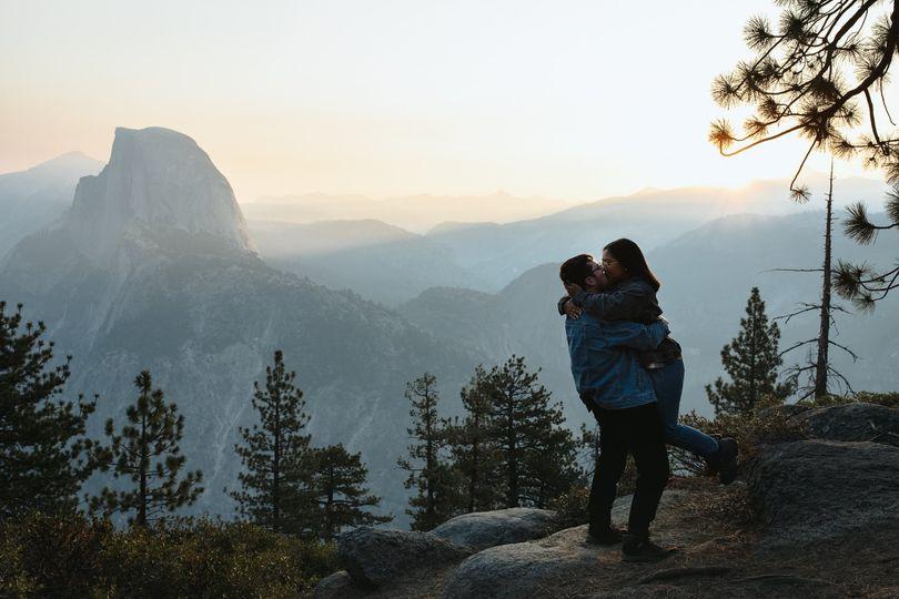 Yosemite Adventure Engagement