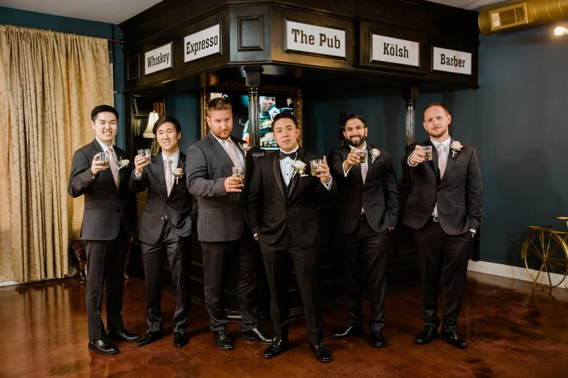 Groomsmen Groom Put  Weddings