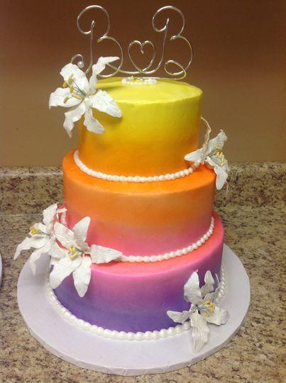 Hombre wedding cake