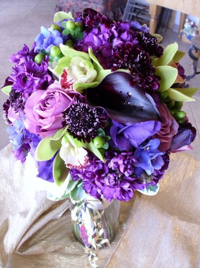 Bridal Bouquet - Purple.