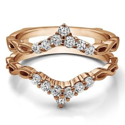 Pointed gold band
