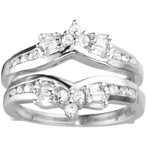 Tmx 1391902881250 Bow Style Ring Guard Enhance Englewood Cliffs, New Jersey wedding jewelry