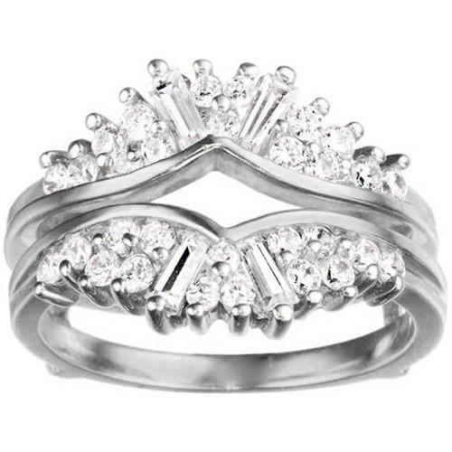 Tmx 1391902886350 Chevron Fan Style Ring Guar Englewood Cliffs, New Jersey wedding jewelry