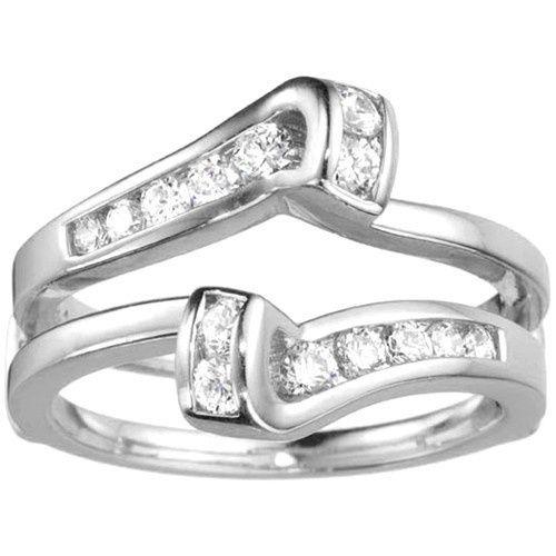 Tmx 1391902889079 Classic Bypass Twist Style Jacket Ring Guar Englewood Cliffs, New Jersey wedding jewelry