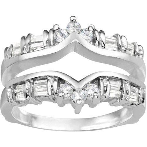 Tmx 1391902892142 Classic Chevron Style Ring Guar Englewood Cliffs, NJ wedding jewelry