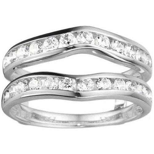 Tmx 1391902896484 Classic Curved Style Ring Guar Englewood Cliffs, NJ wedding jewelry