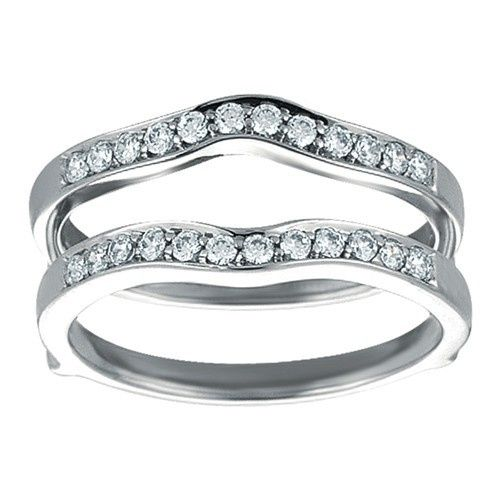 Tmx 1391902900746 Contour Shape Channel Set Enhancer Ring Guar Englewood Cliffs, New Jersey wedding jewelry
