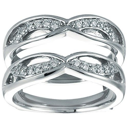 Tmx 1391902903354 Criss Cross Anniversary Style Jacket Ring Guar Englewood Cliffs, NJ wedding jewelry