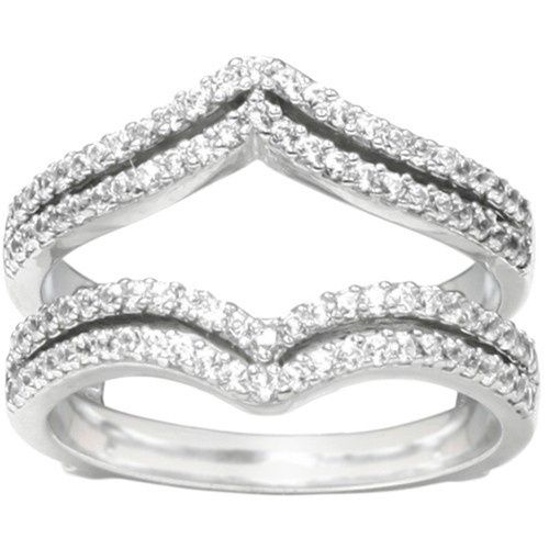 Tmx 1391902912477 Double Row Chevron Style Ring Guar Englewood Cliffs, NJ wedding jewelry
