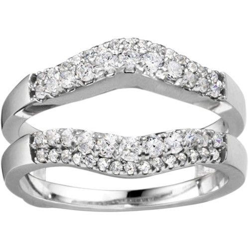 Tmx 1391902914026 Double Row Contour Shaped Ring Guar Englewood Cliffs, New Jersey wedding jewelry