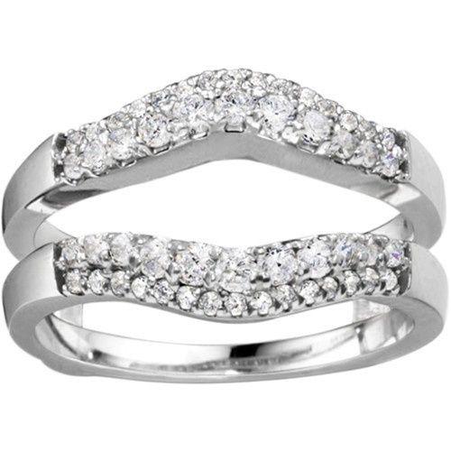 Tmx 1391902914026 Double Row Contour Shaped Ring Guar Englewood Cliffs, NJ wedding jewelry