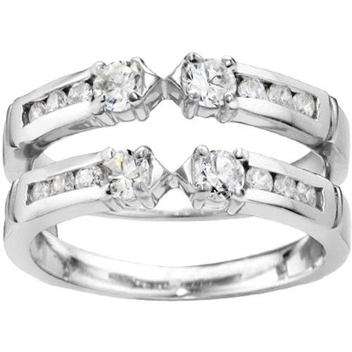 Tmx 1391902923815 Embellished Three Stone Ring Guard Enhance Englewood Cliffs, NJ wedding jewelry