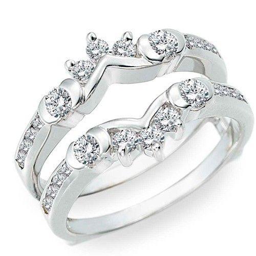 Tmx 1391902936473 Half Halo Classic Style Ring Guar Englewood Cliffs, New Jersey wedding jewelry
