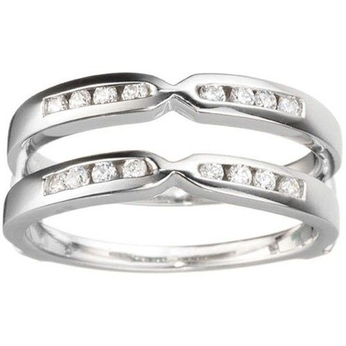 Tmx 1391902940662 Pinched Center Classic Style Guard Enhance Englewood Cliffs, NJ wedding jewelry