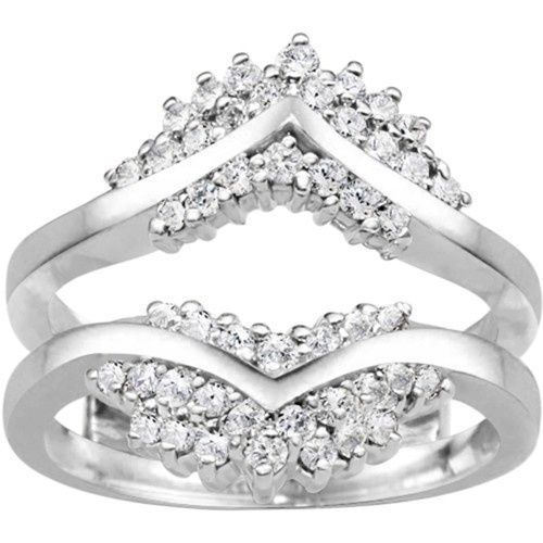 Tmx 1391902961188 Triple Row Anniversary Ring Guar Englewood Cliffs, New Jersey wedding jewelry