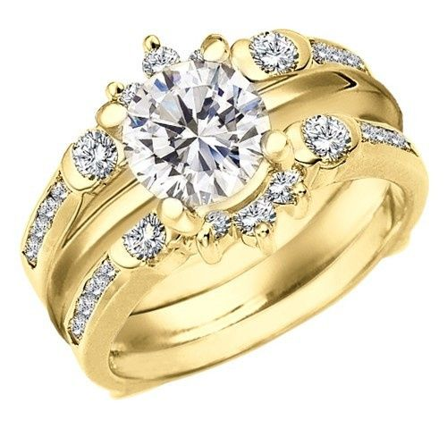 Tmx 1391910557221 Rg077 Whitegold Roun Englewood Cliffs, NJ wedding jewelry