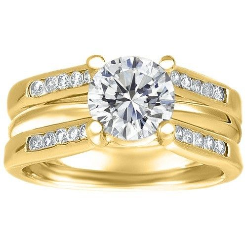 Tmx 1391910563330 Rg099 Whitegold Roun Englewood Cliffs, NJ wedding jewelry
