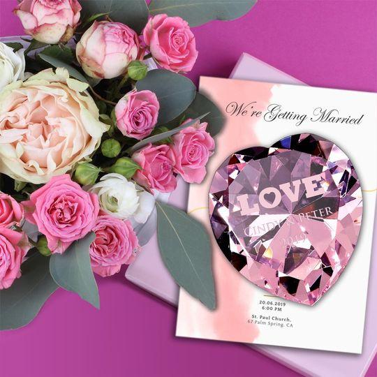 Now & Forever Diamond Heart