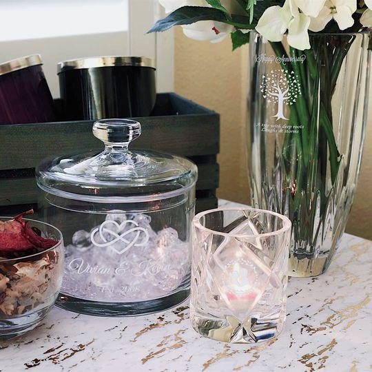 Jar Candle Vase