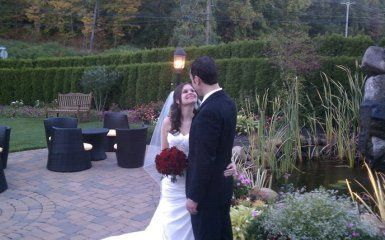 I was the D.J. for Brian and Lauren's wedding at The Cascade in Hamden. A perfect day!