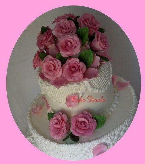 pinkrosesbunch