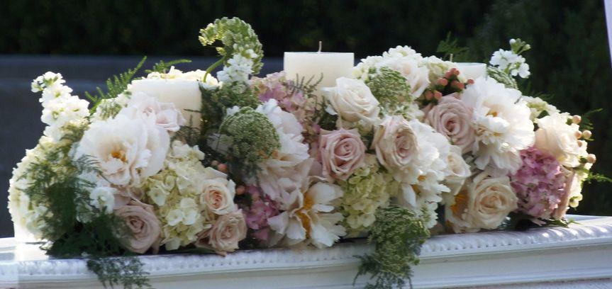 Wedding flower design