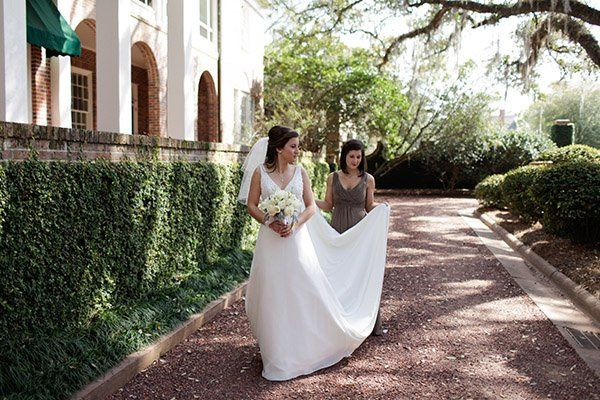 In the stable courtyard   Photo by Kylene & Ryan Studios