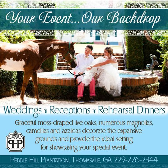 Pebble Hill Plantation Venue Thomasville Ga Weddingwire