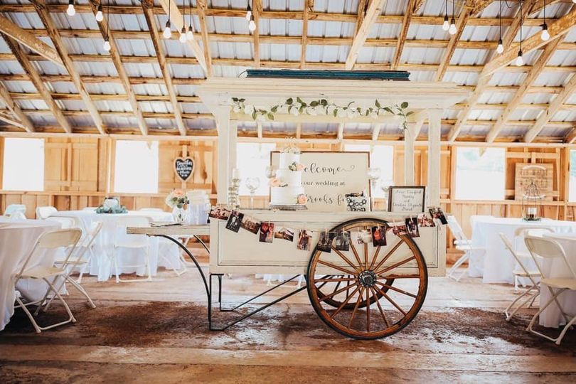 Wedding Cake in Cart