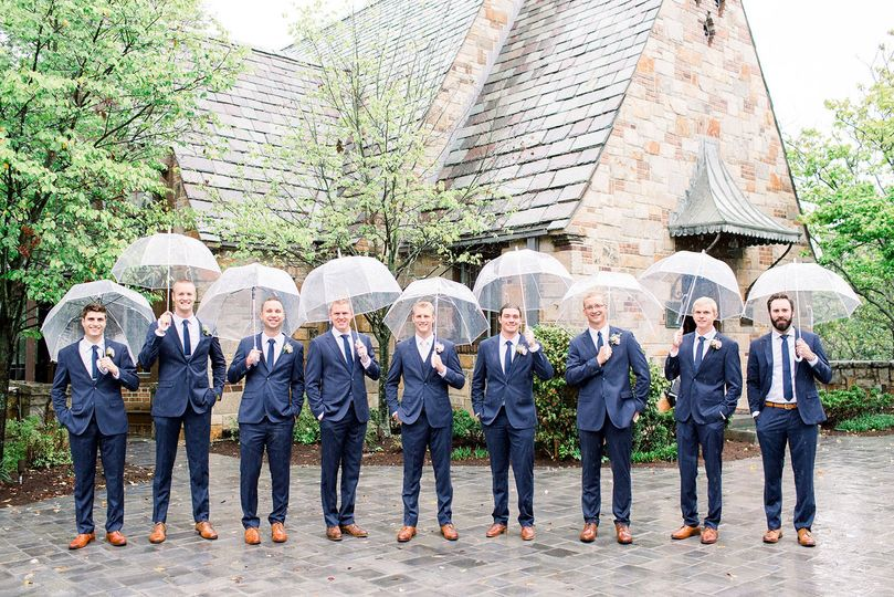 The Groomsman Suit Dress Attire Chicago Il Weddingwire