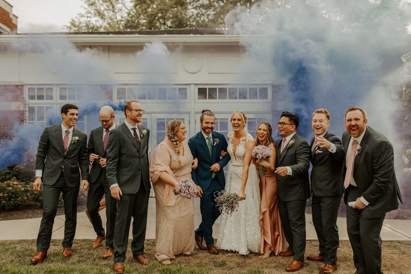 Charcoal Gray Wedding Suits